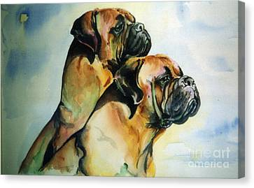 Two Sisters Canvas Print by Adele Pfenninger