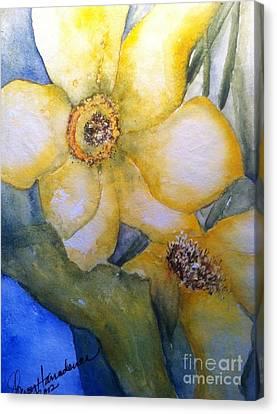 Twosome Canvas Print by Sherry Harradence