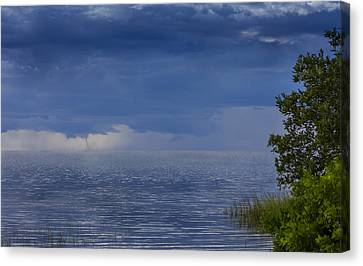 Twisting Water Canvas Print by Marvin Spates