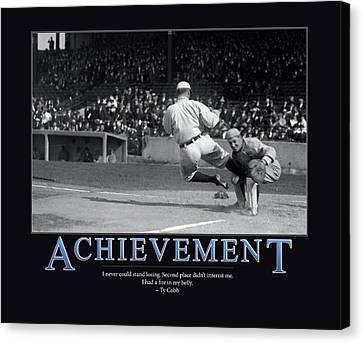 Ty Cobb Achievement  Canvas Print by Retro Images Archive