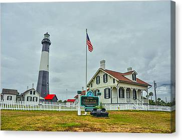 Tybee Island Lighthouse Canvas Print by Donnie Smith