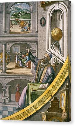 Tycho Brahe Canvas Print by Joan Blaeu