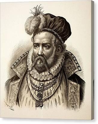 Tycho Brahe Canvas Print by Paul D Stewart