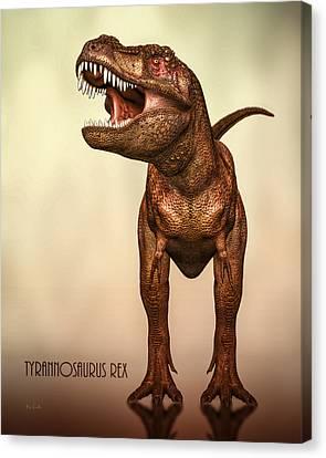 Tyrannosaurus Rex 2 Canvas Print by Bob Orsillo