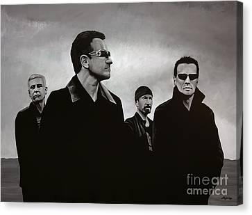 U2 Canvas Print by Paul Meijering