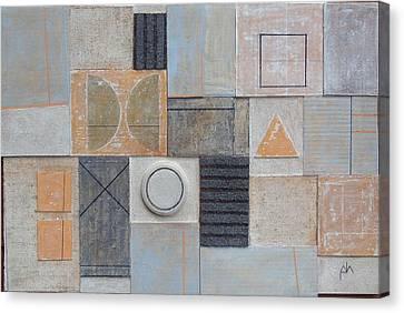 Uctio B. 2002 Canvas Print by Peter-hugo Mcclure
