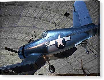 Udvar-hazy Center - Smithsonian National Air And Space Museum Annex - 121228 Canvas Print by DC Photographer