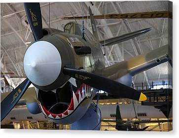 Udvar-hazy Center - Smithsonian National Air And Space Museum Annex - 12124 Canvas Print by DC Photographer