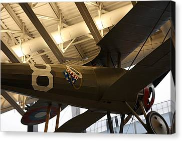 Udvar-hazy Center - Smithsonian National Air And Space Museum Annex - 121294 Canvas Print by DC Photographer