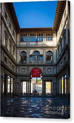 Uffizi Canvas Print by Inge Johnsson