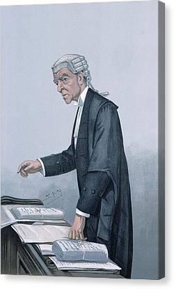 Ulsterman Kc  Canvas Print by Leslie Mathew Ward
