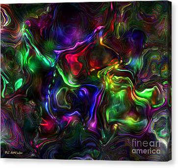Umbilical Souls Canvas Print by RC deWinter