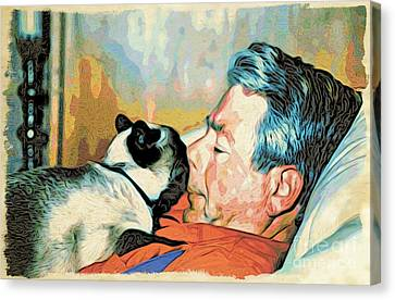 Unconditional Love Canvas Print by Phyllis Kaltenbach