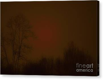 Under The Blood Moon  Canvas Print by Thomas R Fletcher