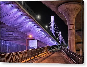 Under The Bridge Canvas Print by Alejandro Tejada