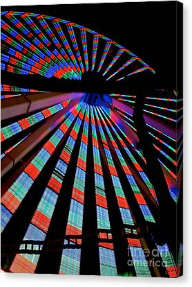 Under The Giant Wheel Canvas Print by Mark Miller
