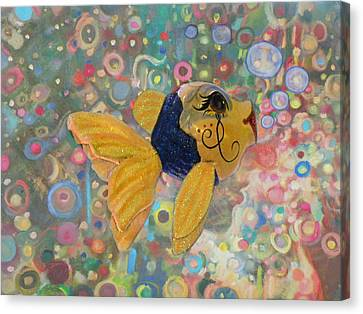 Under The Sea Party Canvas Print by Sandi OReilly