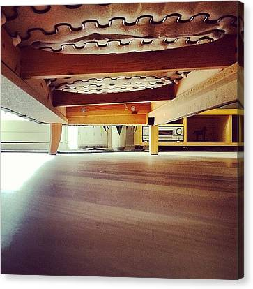#under #the #sofa #lol #add #addme Canvas Print by Theis Dam