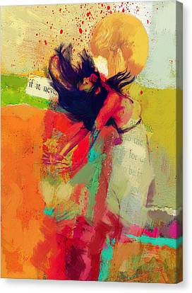 Under The Sun Canvas Print by Corporate Art Task Force