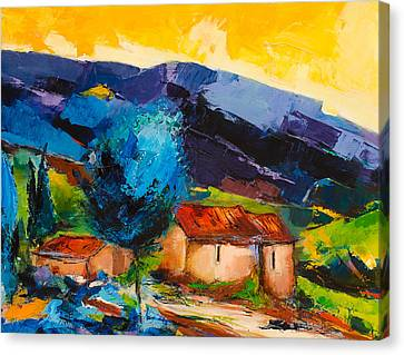 Under The Tuscan Sky Canvas Print by Elise Palmigiani