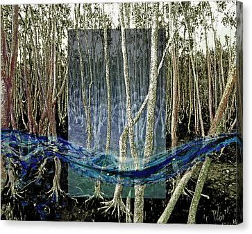 Undercurrent Canvas Print by Maria Jesus Hernandez