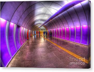 Underground Colors Canvas Print by Will Cardoso