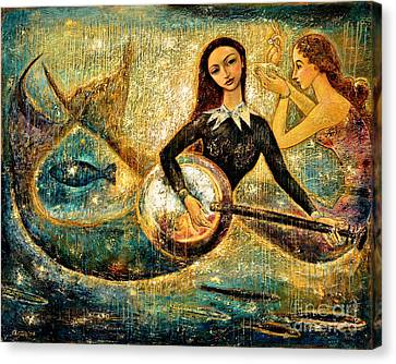 Undersea Canvas Print by Shijun Munns