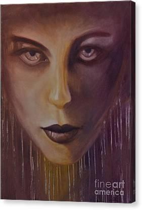 Underworld Canvas Print by Juliet Sarah Marx