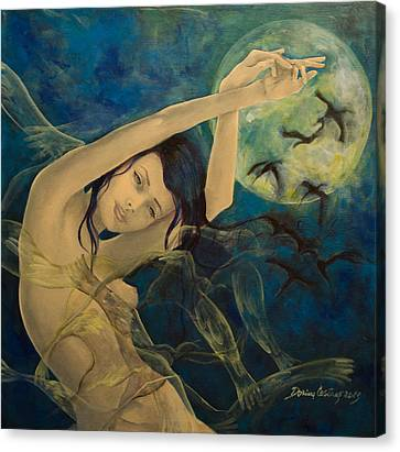 Unfinished Song Canvas Print by Dorina  Costras