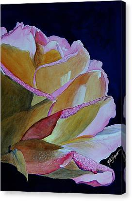 Unfolding Rose Canvas Print by Ruth Bodycott