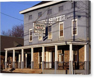Union Hotel Canvas Print by Skip Willits