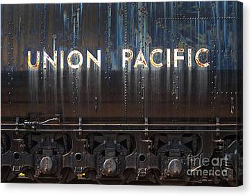 Union Pacific - Big Boy Tender Canvas Print by Paul W Faust -  Impressions of Light