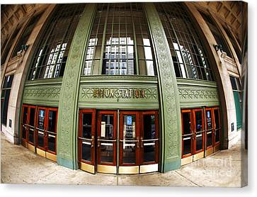 Union Station Exterior Canvas Print by John Rizzuto