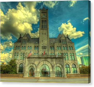 Union Station Nashville Canvas Print by  Caleb McGinn