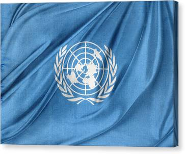 United Nations Canvas Print by Les Cunliffe