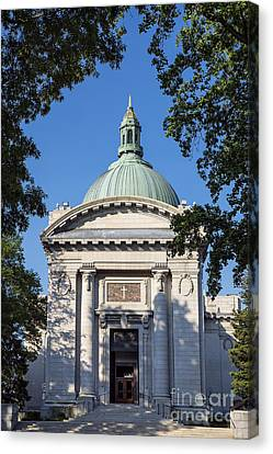 United States Naval Academy Chapel Canvas Print by John Greim