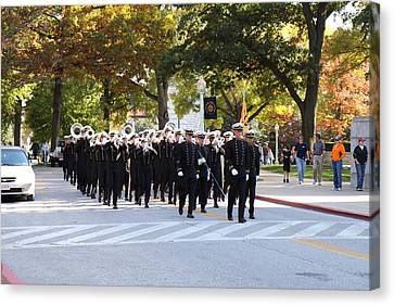United States Naval Academy In Annapolis Md - 121243 Canvas Print by DC Photographer