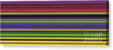 Unity Of Colour 5 Canvas Print by Tim Gainey