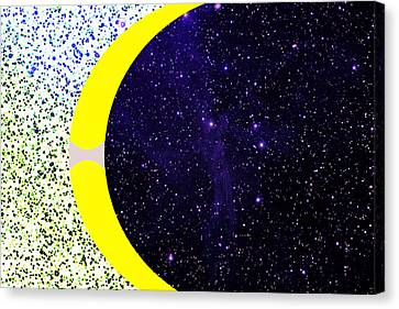 Universes Seeking Equilibrium Canvas Print by Bruce Iorio