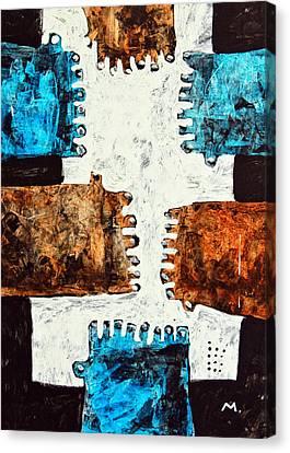 Universi No. 3 Canvas Print by Mark M  Mellon