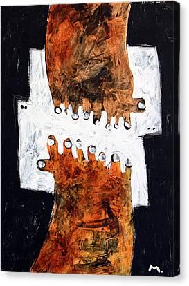 Universi No. 4 Canvas Print by Mark M  Mellon