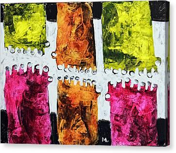 Universi No. 5 Canvas Print by Mark M  Mellon