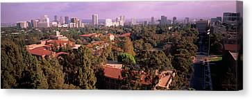 University Campus, University Of Canvas Print by Panoramic Images