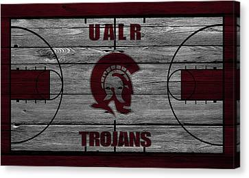 University Of Arkansas At Little Rock Trojans Canvas Print by Joe Hamilton