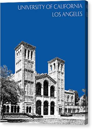 University Of California Los Angeles - Royal Blue Canvas Print by DB Artist