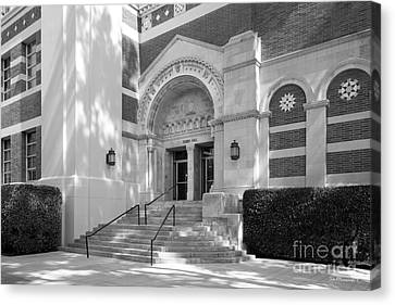 University Of California Los Angeles Dodd Hall Canvas Print by University Icons
