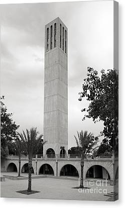 University Of California Storke Tower Canvas Print by University Icons
