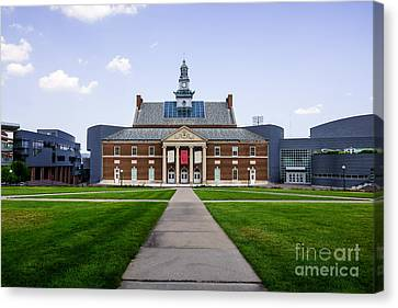 University Of Cincinnati Tangeman University Center  Canvas Print by Paul Velgos