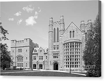 University Of Connecticut School Of Law Meskill Law Library Canvas Print by University Icons