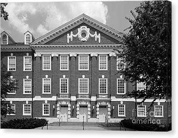 University Of Delaware Wolf Hall Canvas Print by University Icons